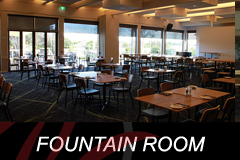 The Fountain Room at The Bentleigh Club for weddings, birthdays, anniversary parties, corporate functions, special occasions.