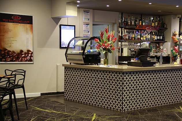 The Bentleigh Club Cafe Bar - relax, read the newspaper
